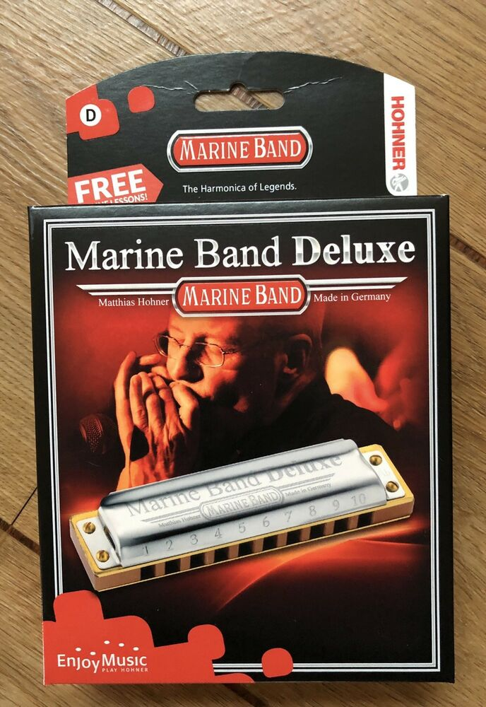 Hohner Marine Band Deluxe In The Key Of D