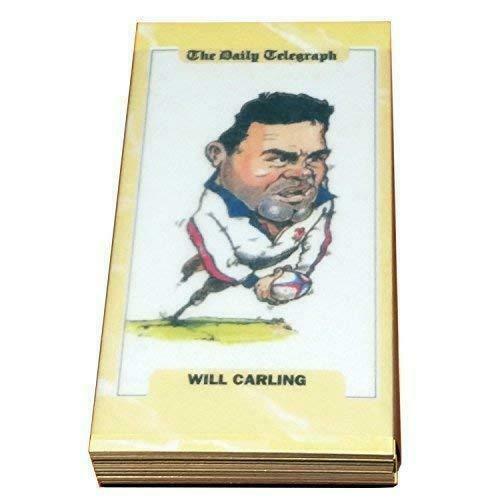 Mint Condition Set of 26 Trading Cards - Rugby World Cup