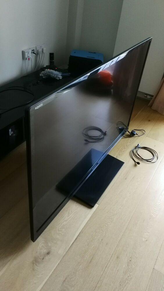 Sharp 60 lc-60le636e 60 inch p HD LED screen