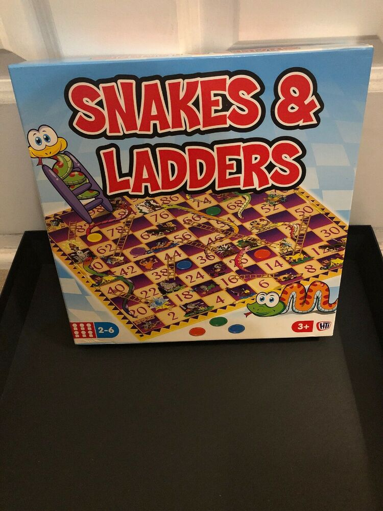 Snakes and Ladders Traditional Childrens & Family Board Game