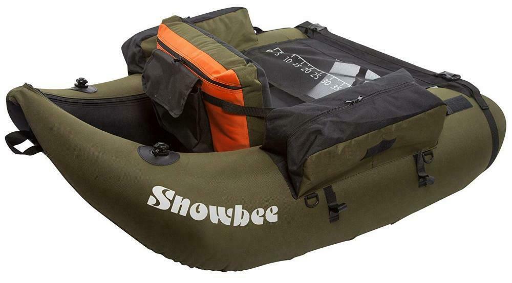 Snowbee Classic Float Tube Kit - Olive Green/Black, One