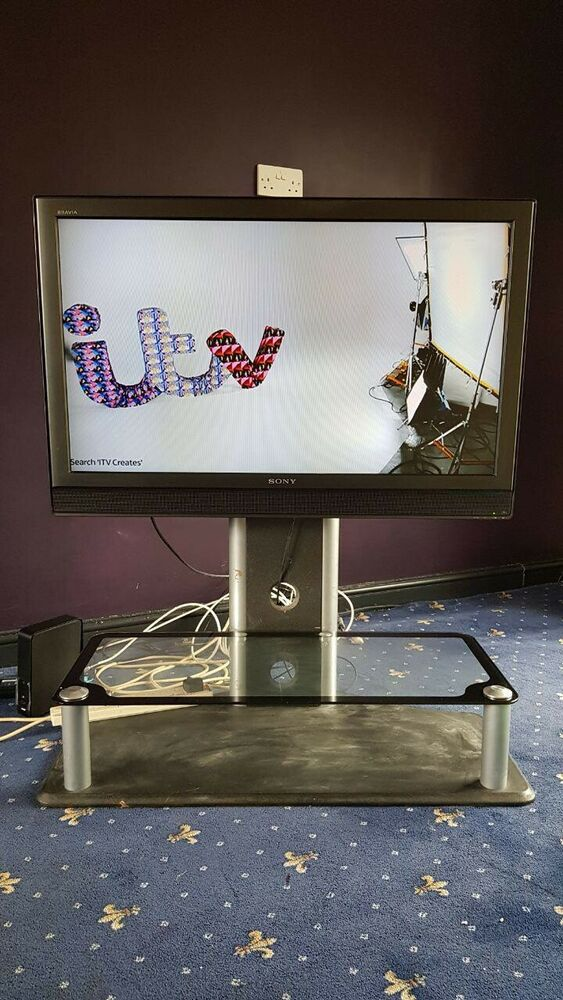 Sony Bravia KDL-40Up HD LCD TV on a stand