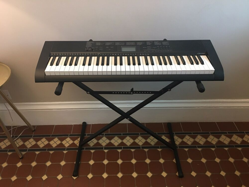 Casio CTK- Full Size Keyboard with adjustable stand,