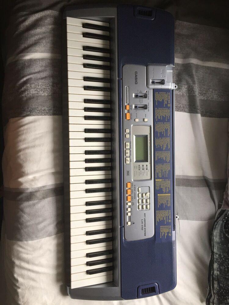 Casio Lk160 Lighting up Keyboard 61 Keys