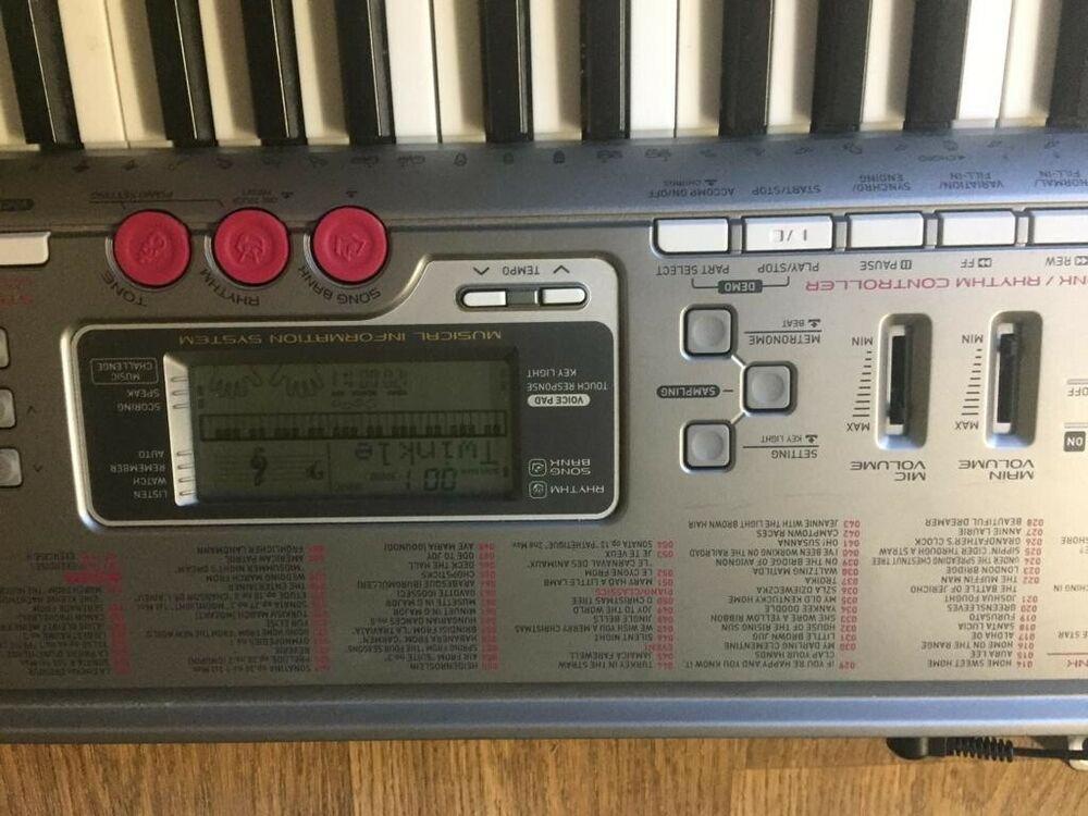 Casio Lk230 Lighting up Keyboard