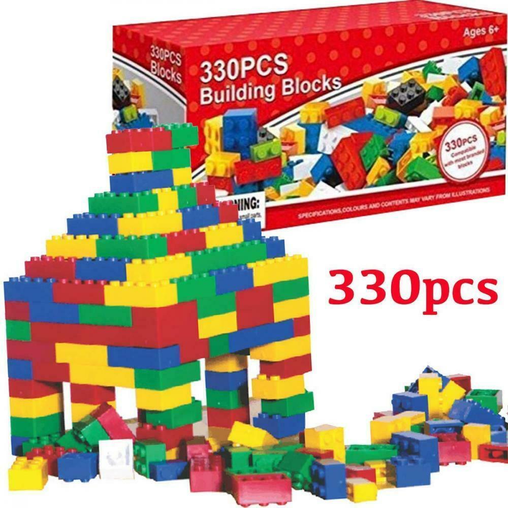 Fineway. 330pcs Kid Building Blocks DIY Toys, Children