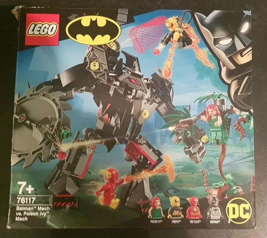 LEGO  Batman Mech Vs Poison Ivy Mech(Missing Bits)