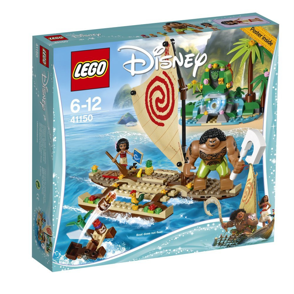 LEGO  Disney Princess Moana's Ocean Voyage Building Toy
