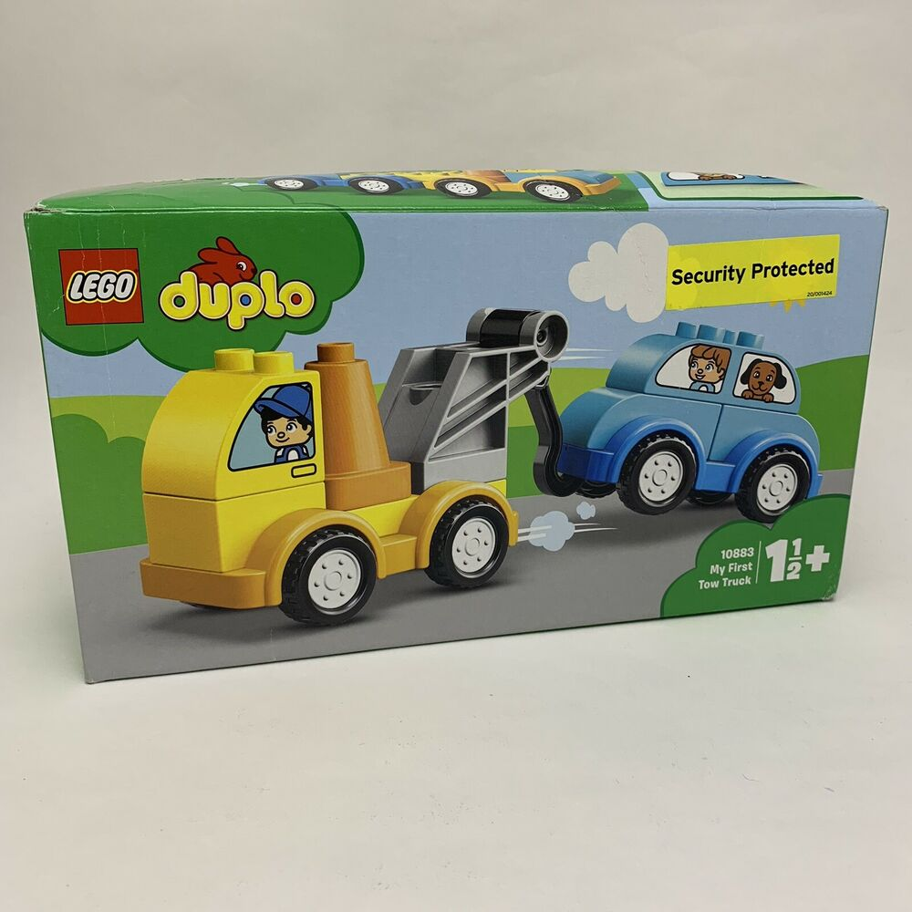 LEGO Duplo  Set - My First Tow Truck Building Blocks -