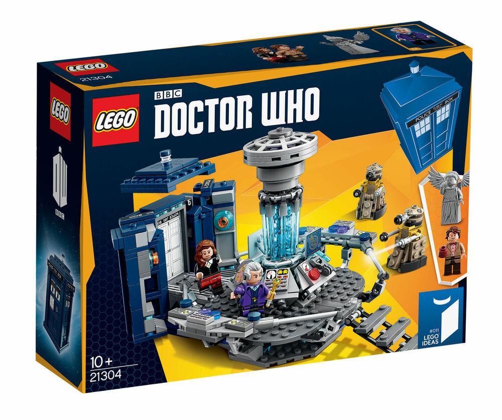 LEGO Ideas  Doctor Dr Who Tardis Building Construction