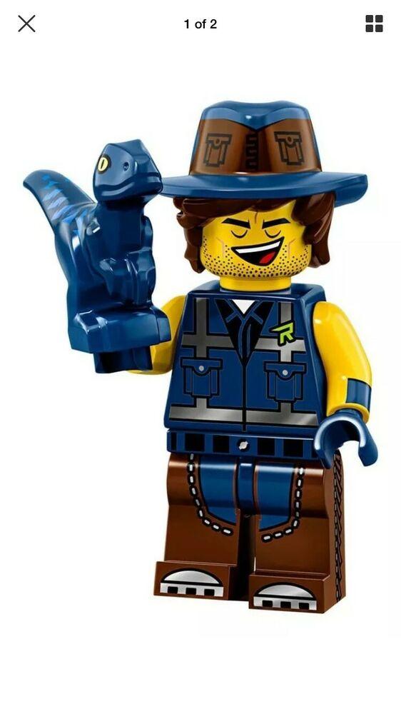 LEGO Minifigures Movie 2 Vest Friend Rex  Wizard Of Oz