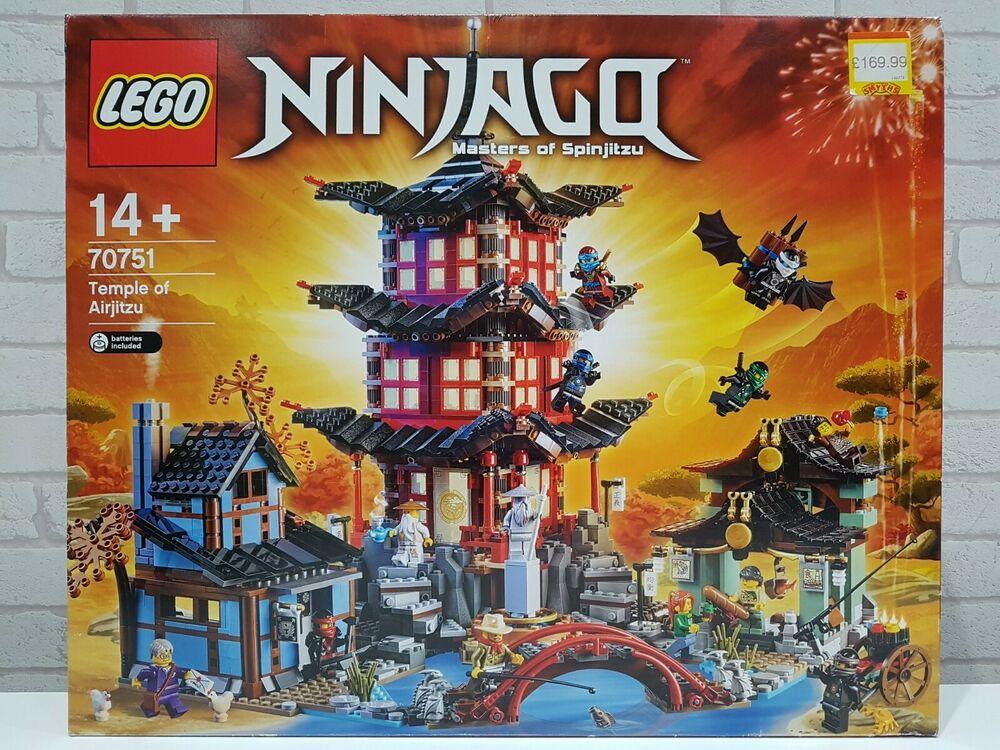 LEGO NINJAGO  - Temple of Airjitzu - New in Sealed Box