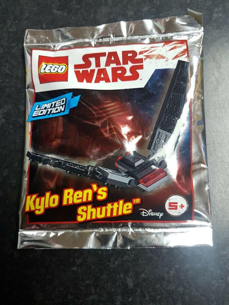 LEGO STAR WARS: Mini Kylo Ren's Shuttle Polybag Set