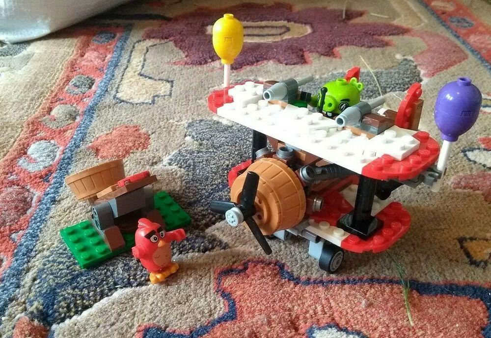 Lego  Angry Birds Piggy Plane Attack Building Set