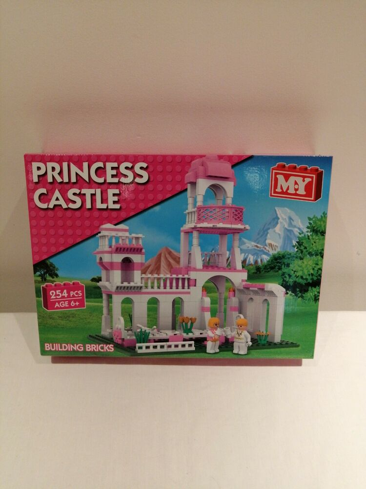 MY GIRLS PRINCESS CASTLE BUILDING BLOCKS CONSTRUCTION