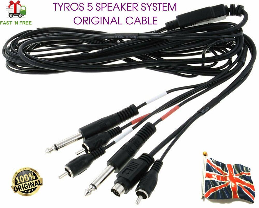 Original Yamaha Tyros 5 TRS-MS05 Speaker system Woofer Cable