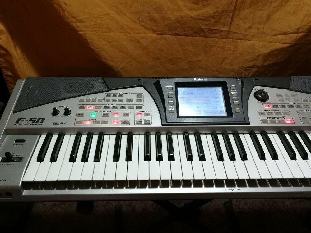 Roland E50 Music Workstation