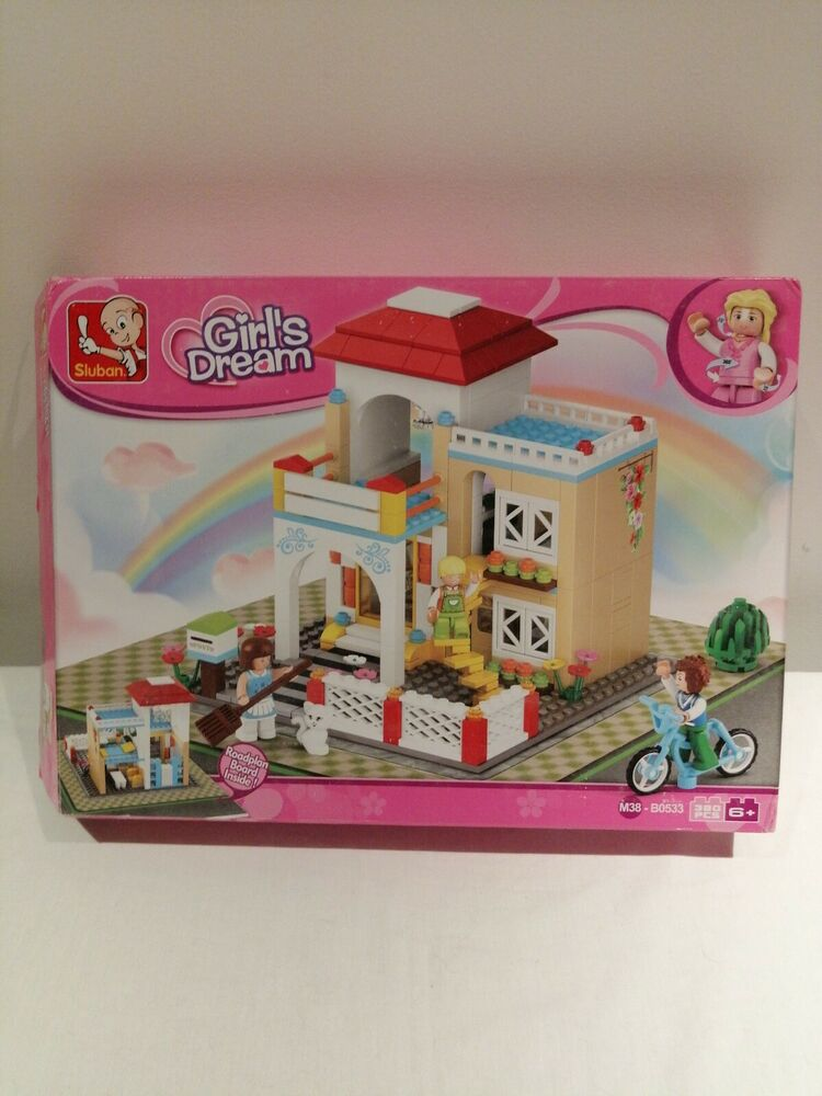 Sluban Building Blocks Girls Dream Series Detached House