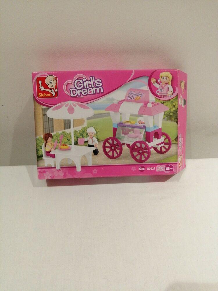 Sluban Building Blocks Girls Dream Series Food Stall