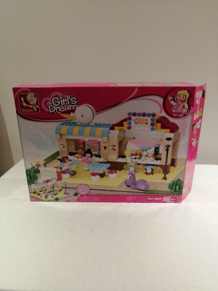Sluban Girls Dream B Outdoor Inn / 257 Pieces Brick Set