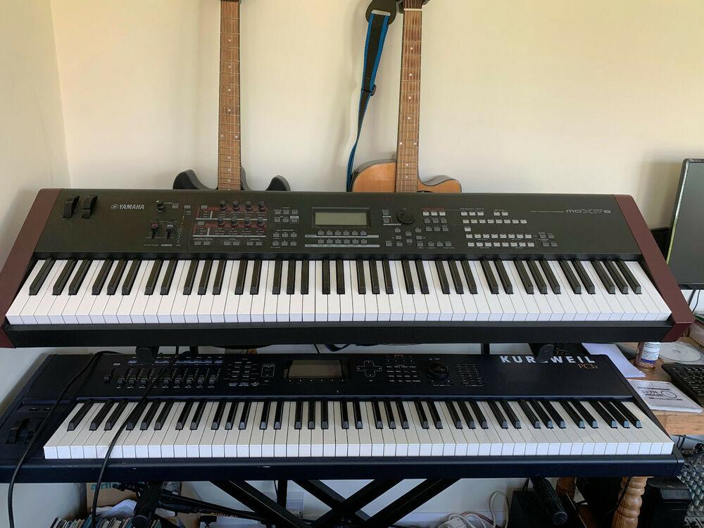 Yamaha MOXF8 Synthesizer Workstation, Full Piano Weighted