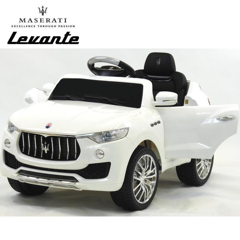LICENSED MASERATI LEVANTE 6V ELECTRIC KIDS RIDE ON CAR WITH