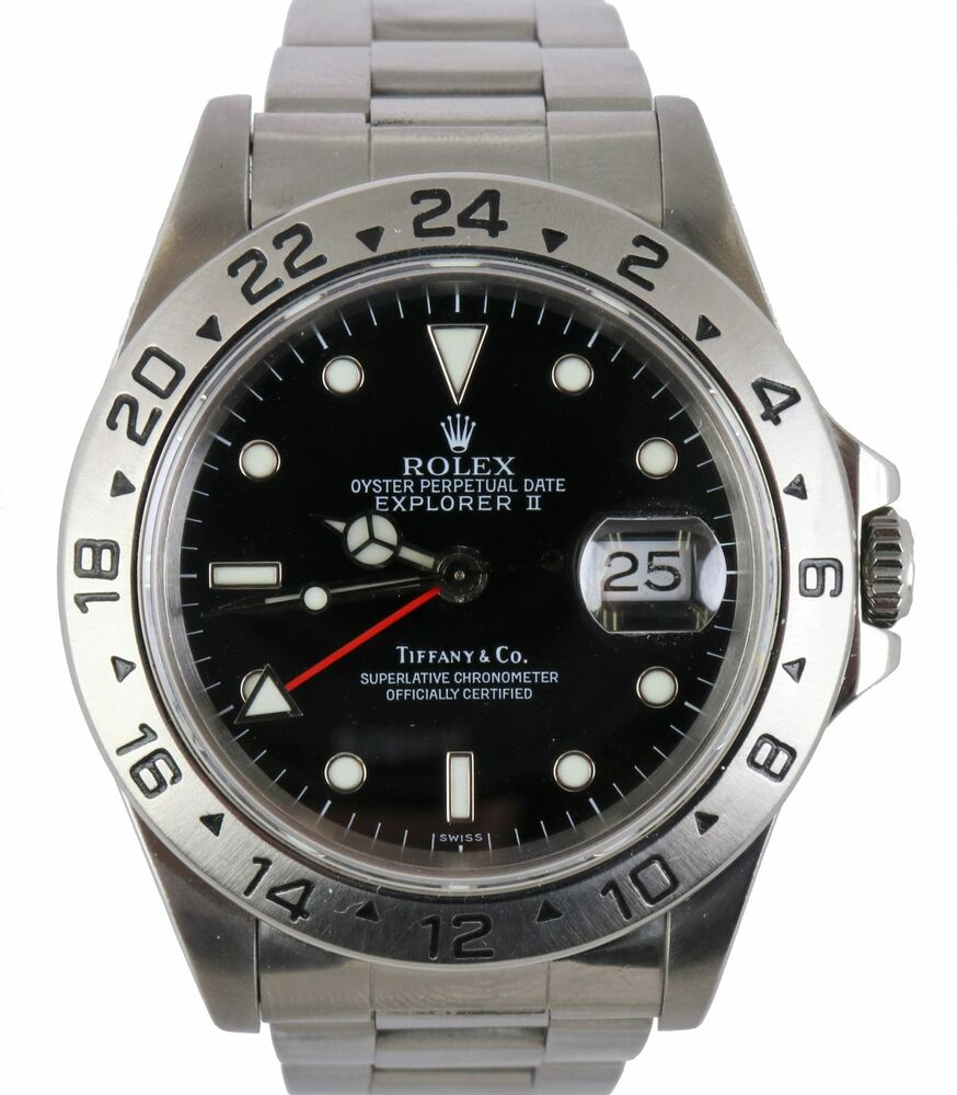 Rolex Explorer II Tiffany  Swiss Only Stainless