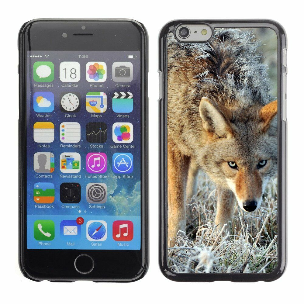 Hard Phone Case Cover Skin For Apple iPhone Wolf Animal