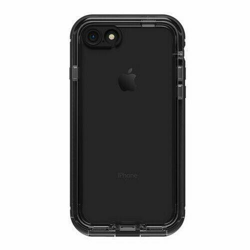 LifeProof NUUD Waterproof Case for iPhone 8 - Black/Clear