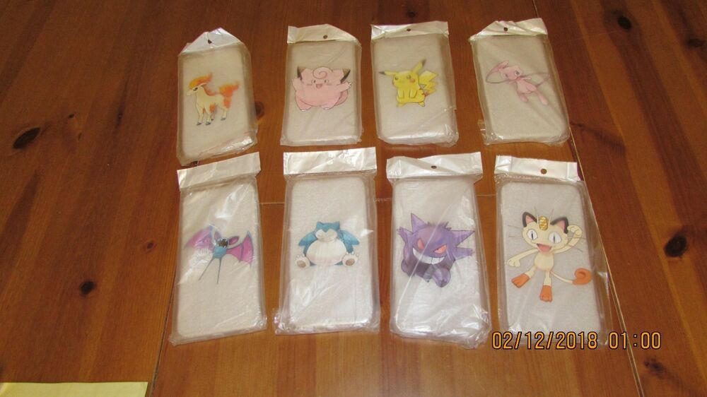 POKEMON protective phone case for iPHONE 6 PLUS - choice of