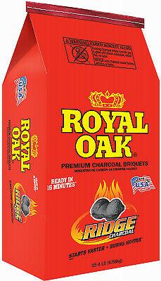 ROYAL OAK SALES Premium Charcoal Briquettes, 15.4-Lbs.