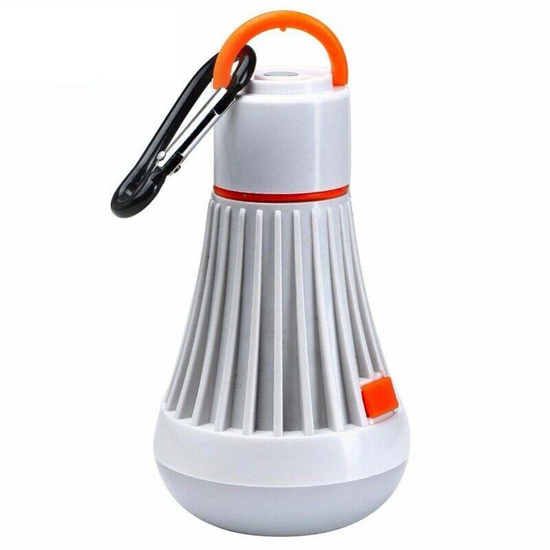 2X(6 Led + 3W Portable Camping Tent Light Flashlight Lantern