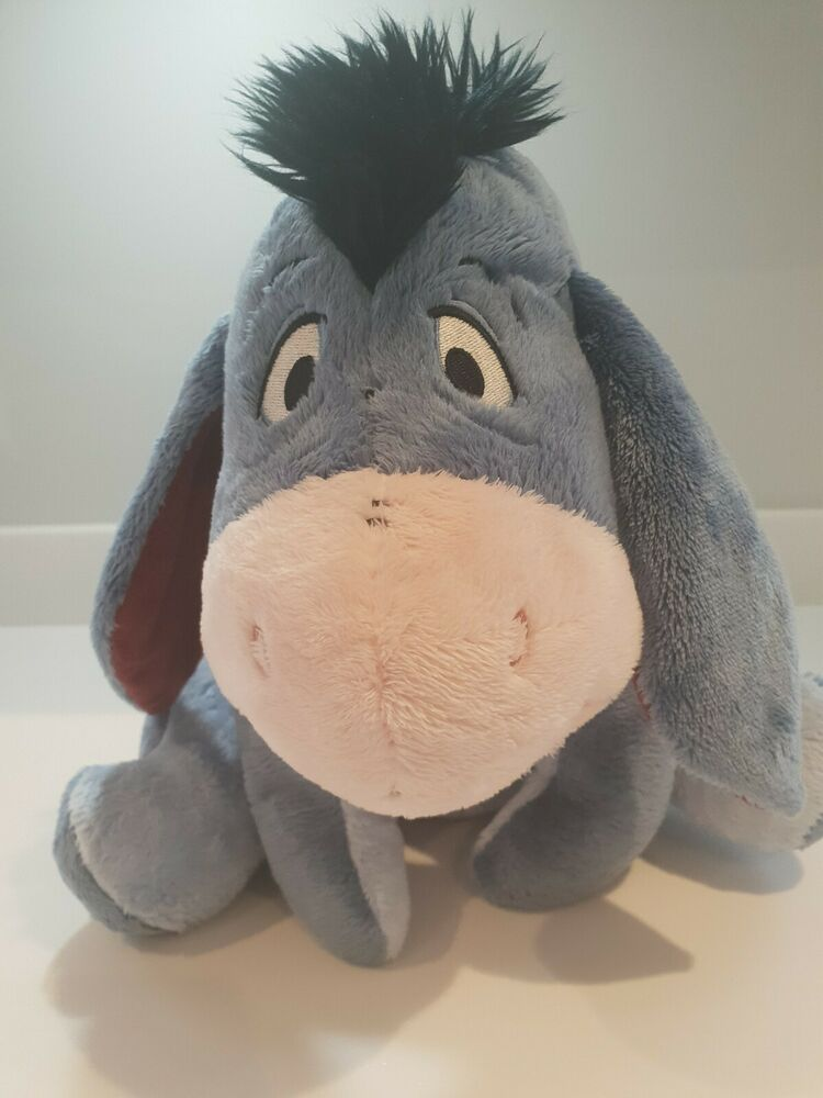 DISNEY STORE EEYORE PLUSH SOFT TOY FROM WINNIE THE POOH