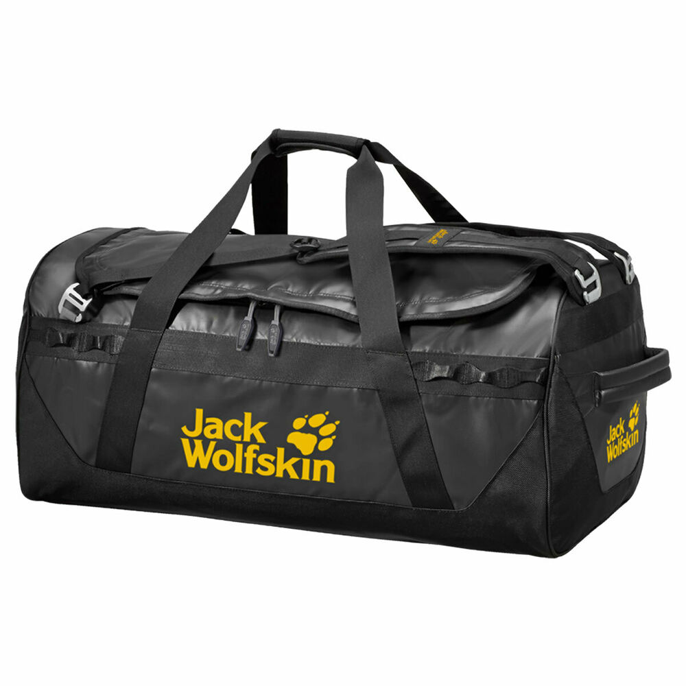 Jack Wolfskin Expedition Trunk 100 Travel Bag - Black