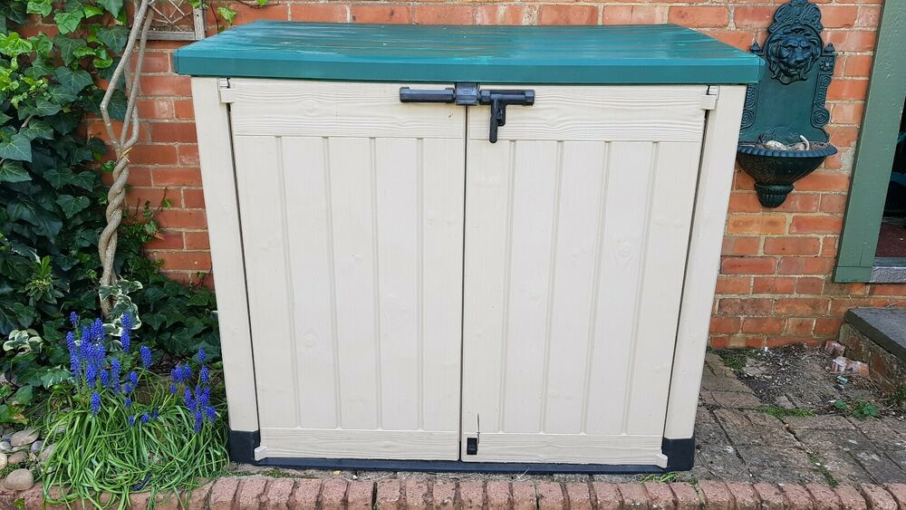Keter Store It Out Max XL Plastic Garden Storage Unit Shed