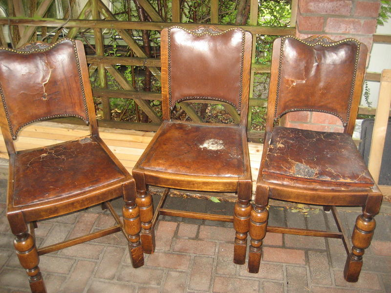 Solid dining room chairs