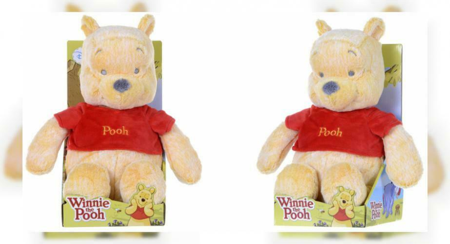 "Winnie The Pooh Snuggletime Soft Toy, 12"", orange"