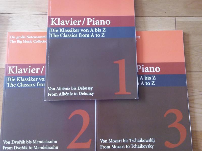 Piano The Classics by Margarete Babinsky A to Z