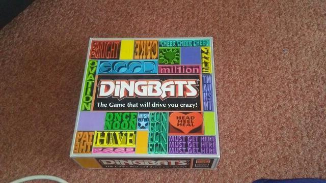 dingbats game complete with turntable just needs new battery