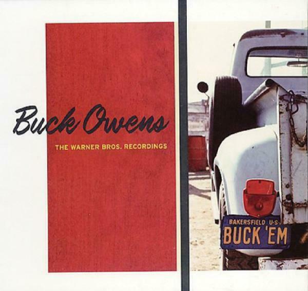 Buck Owens - Warner Bros Recordings CD2 Rhino Hand NEW