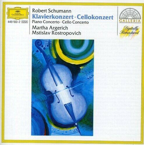 Pno Con Op.54 Cello Con Op.129 - C. Schumann (CD New)