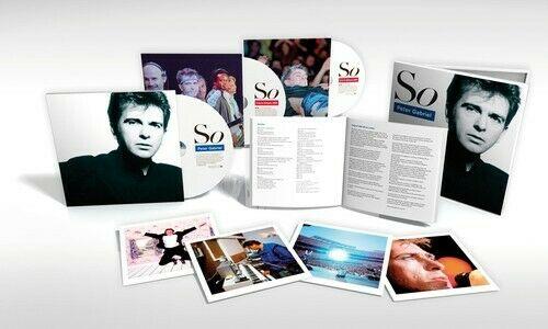 So: 25th Anniversary Edition (3 Cd) - Peter Gabriel (CD New)