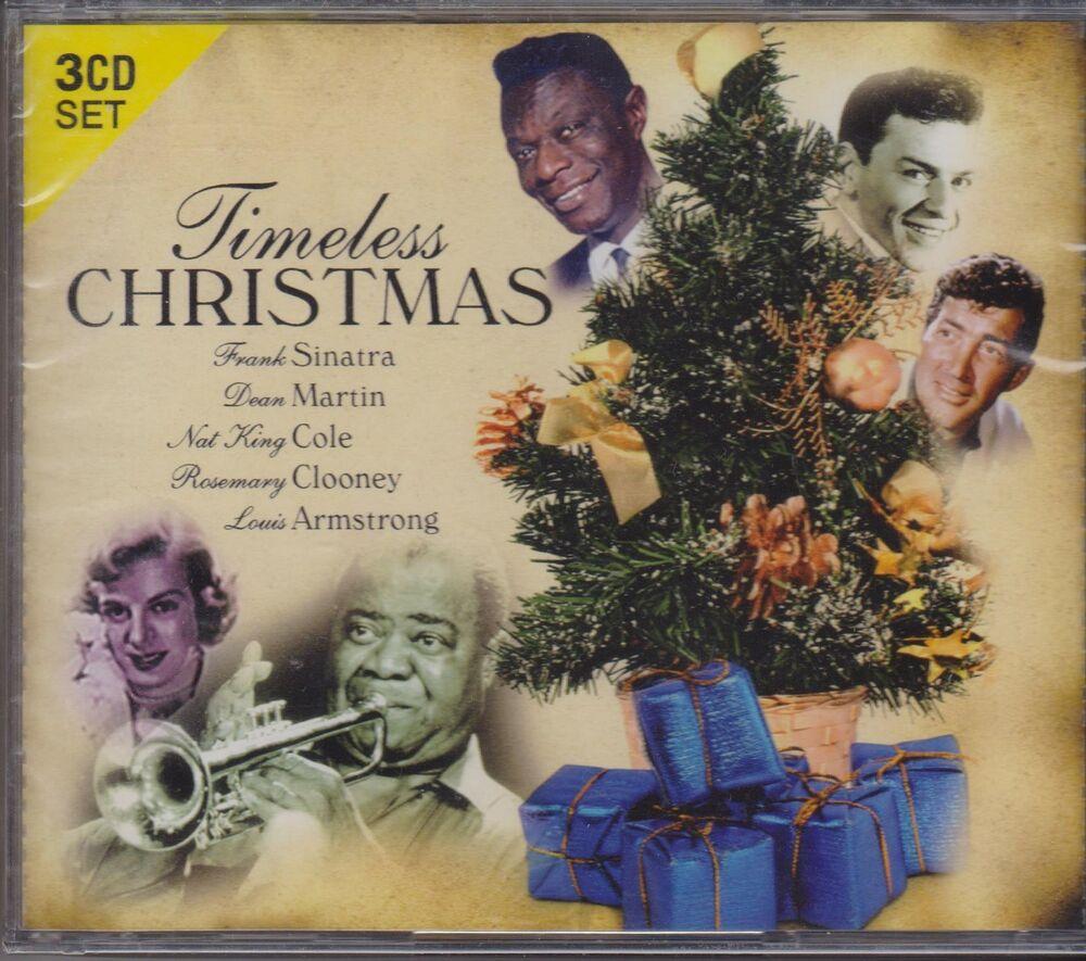 TIMELESS CHRISTMAS - VARIOUS ARTISTS on 3 CD'S