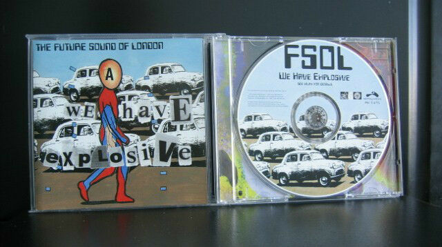 The Future Sound Of London - We Have Explosive 9 Track CD