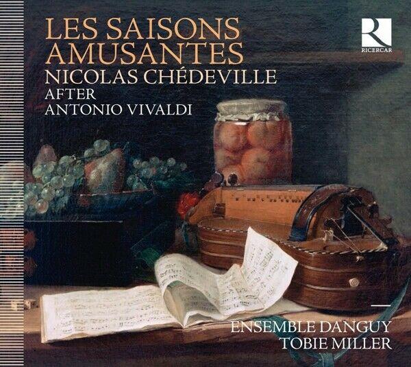 Tobie Miller / Ensemble Danguy - Les Saisons Amusantes CD