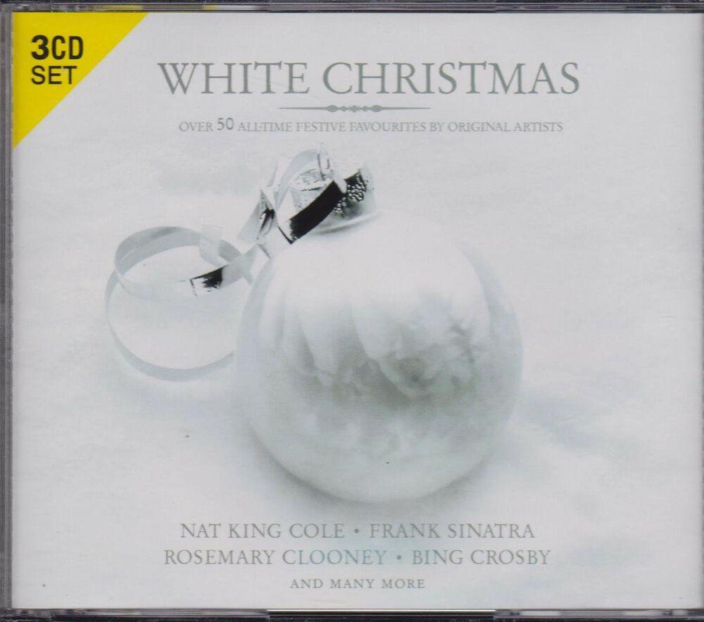 WHITE CHRISTMAS - VARIOUS ARTISTS on 3 CD'S