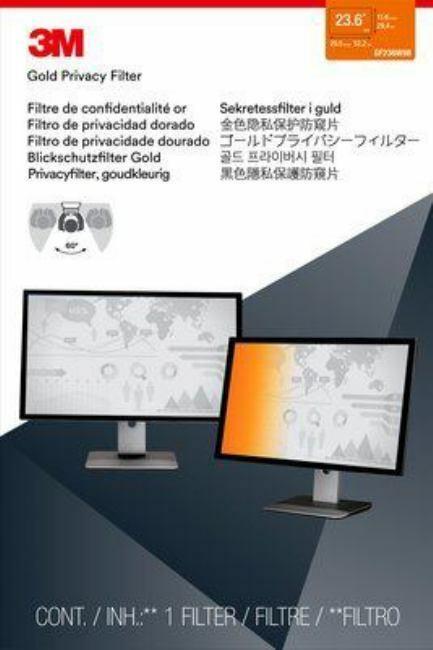 "3M GF236W9B - 23.6"" Widescreen Monitor Gold"