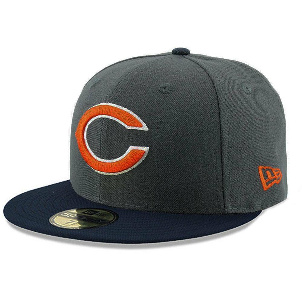 Chicago Bears New Era Ballistic Visor NFL 59FIFTY Fitted Cap