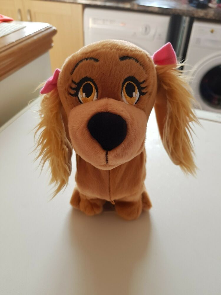 Lucy The Dog Interactive Puppy Toy. Club Petz