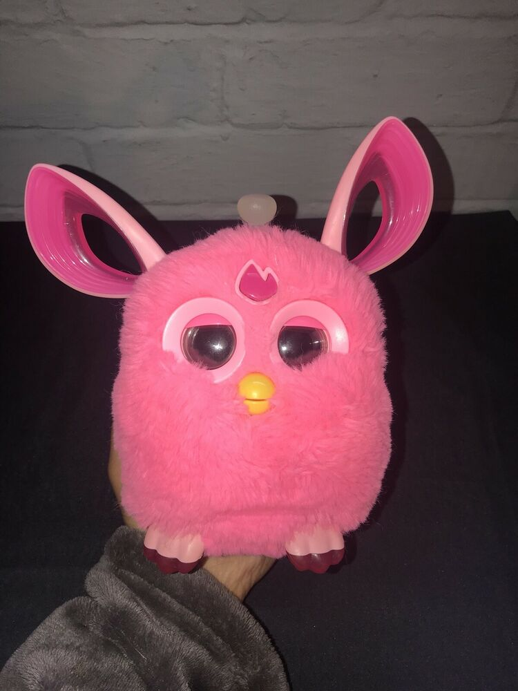 Pink Furby Connect Interactive Pet Hasbro Excellent